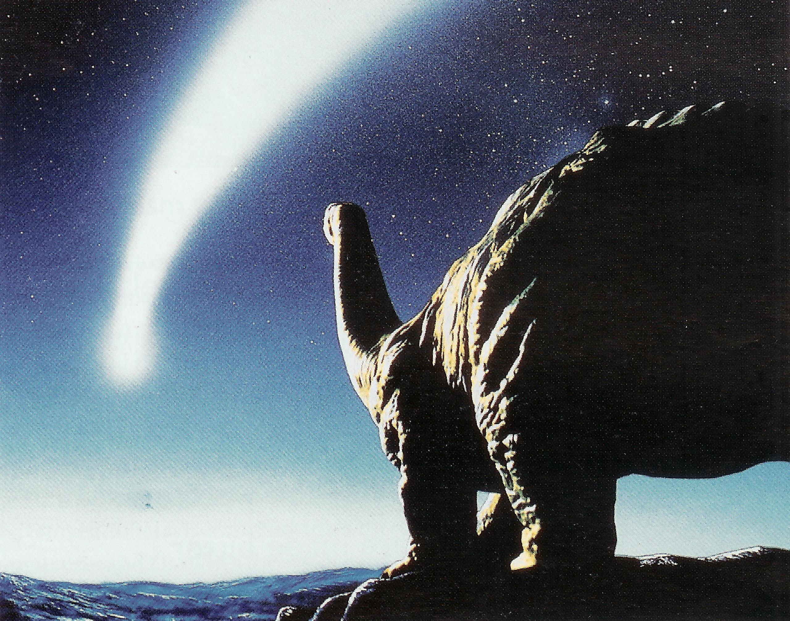 правило, динозавры и метеорит картинки нас